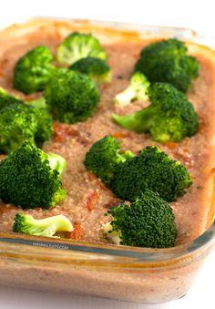 Vegan Broccoli quinoa caserole
