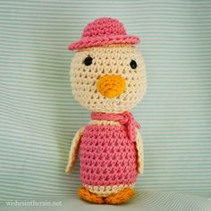 Free Pattern: Sailor Seagull | wishes in the rain. FP 5/15