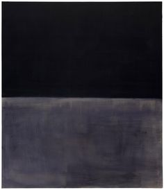 Mark Rothko, Untitled (Black on Gray), 1969/70. Acrylic on canvas, 80 1/8 x 69 1/8 inches (203.3 x 175.5 cm)