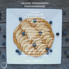 Vauvan (vegaaninen) omenapannari Baby Food Recipes, Healthy Snacks, Food And Drink, Baby Shower, Sweets, Baking, Child, Kids, Recipes For Baby Food