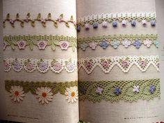 Crochet Edging and Braid Book by IamSusie, via Flickr
