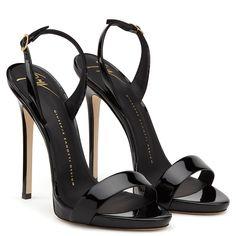 Head over Heels - Sophie - Sandals - Black Cute Shoes, Women's Shoes, Me Too Shoes, Shoe Boots, Pumps, Stilettos, Giuseppe Zanotti Heels, Beautiful High Heels, Black High Heels