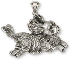 Cavalier King Charles Spaniel Pendant Sterling Silver Jewelry KC16 | eBay