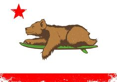 In Response to the Legalization: California Bear