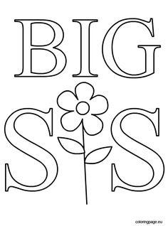 Im a Big Sister Printable Big sister gifts, Big sister