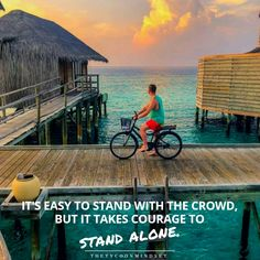 Standing Alone, Business Ideas, Mindset