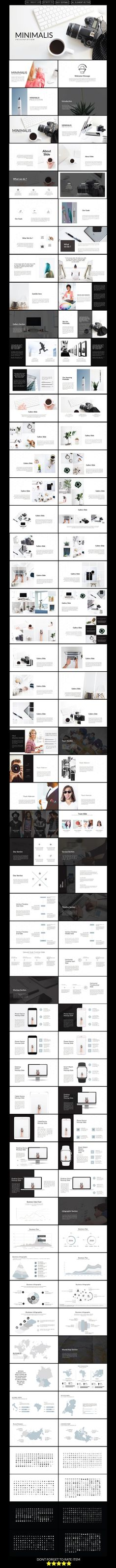 Minimalis Multipurpose Keynote Presentation Template