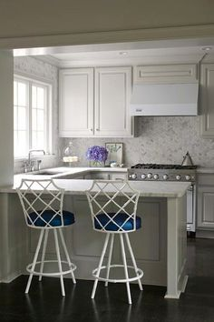 "Interior Design Ideas - ""Pale Gray Cabinet Paint Color"" --- Sherwin Williams Light French Gray"