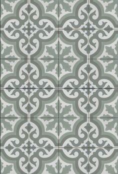Mudroom floor tiles.: