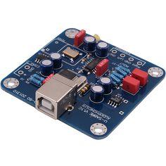 Audiophonics U-Sabre DIY MINI USB DAC 24Bit/96Khz SA9023/ES9023Voici une version de l'U-Sabre destinée à l'intégration dans l'une de vos réalisation DIY (Raspify, PiCoreplayer, etc ..)  L'U-Sabre DIY est un convertisseur USB vers S/PDIF / RC