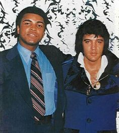 Elvis and The Champ