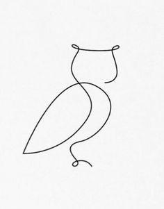 Ideas Line Art Projects Simple Owl Art, Doodle Art, Owl Doodle, Quilt Patterns, Geometric Patterns, Owl Patterns, Geometric Art, Wire Crafts, Free Motion Quilting