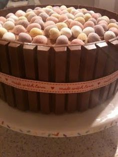 Chocolate Ganache Cake for Secluded Easter Tea Party