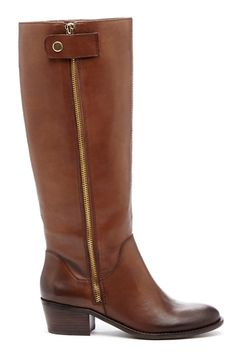 Sole Society Bria Block Heel Boot, $139.94, available at Sole Society.  http://www.refinery29.com/best-fall-wide-calf-boots#slide25