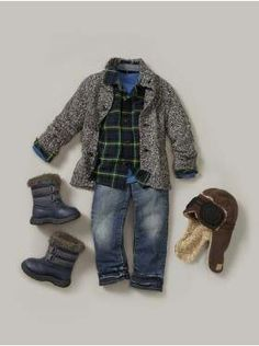Love the jacket for kaid!- already have snow boots for Carter