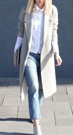 17 White Outfits for Christmas and New Years Eve Mode Outfits, Fashion Outfits, Womens Fashion, Fashion Trends, White Outfits, Fall Outfits, Outfits Damen, Looks Street Style, School Looks