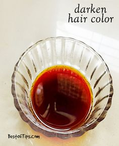 Want to have darker hair but aren't willing to destroy your hair with chemicals and artificial hair colors? It's possible to make your hair dark...