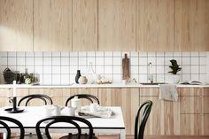 Wood in the kitchen - via Coco Lapine Design