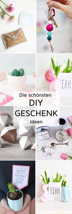 DIY - Die schönsten Geschenk-Ideen zum Selbermachen - für Weihnachten, Geburtstag, Muttertag oder einfach kleine Geschenke für Zwischendurch ❤︎