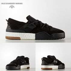 Adidas Originals x Alexander Wang AW BBALL LO Boost Black Size in Clothing 50f77a35dc