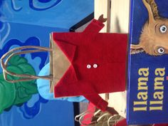 My friend made them and I looove them! Llama Birthday, Baby Birthday, Llama Llama Red Pajama, Clothing Themes, Red Pajamas, Pajama Party, Party Activities, 3rd Birthday Parties, Goodie Bags