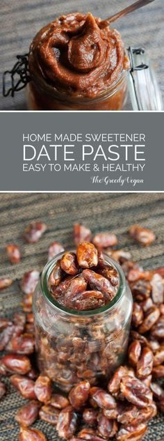 The simplest way of adding dates to dishes is by turning them into a date paste. It stores well and is easily added to anything that needs extra sweetness.