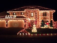Christmas Light Installation is a business opportunity for anyone that is interested in making money fast. Whether you're looking for some extra money for Christmas gifts, a new job, a way to get out of debt or just a chance to own yo Outdoor Christmas Light Displays, Exterior Christmas Lights, Best Christmas Lights, Outside Christmas Decorations, Christmas Lights Outside, Christmas Light Installation, Hanging Christmas Lights, Merry Christmas, Decorating With Christmas Lights