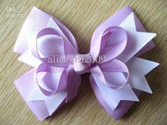 Wholesale-baby Girls Beautiful Hair Bows Headbands Ribbon Bows ...