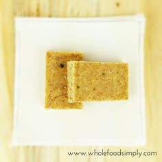 Lemon and Lime Bars ~ Wholefood Simply