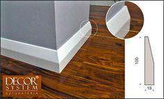 Listwy przypodłogowe MDF wprowadzają do twojego mieszkania nowoczesny styl, obok którego nikt nie przejdzie obojętnie. Jej wyjątkowe walory estetyczne wprowadzają nową i oryginalną jakość Hardwood Floors, Flooring, Mirror, Furniture, Home Decor, Gun, Living Room, Wood Floor Tiles, Wood Flooring