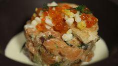 Tartare de saumon au concombre et à la feta de Flora Mikula - Recettes - Dans la peau d'un chef - France 2