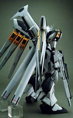 The Last MS of Amuro Ray: FULL Remodeled MG Hi Nu Gundam Ver.Ka by MAVERIC104. Full Photoreview [comparison w/original gunpla too] Many Images! http://www.gunjap.net/site/?p=217901