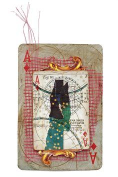 "playing card collab ""Celestial"" by ~myroski on deviantART"