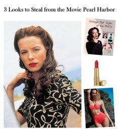 Celebrate the 15th anniversary of the blockbuster movie Pearl Harbor with these three fabulous, retro looks you can wear today.