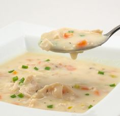 Cream of Chicken Soup by EvilShenanigans, via Flickr - made this tonight, sooo good!!!