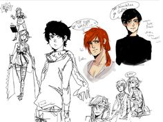 sketches by Naoot.deviantart.com (Kingkiller Chronicle fan? Visit eoliantavern.com)