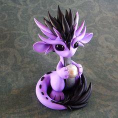 Lavender Oriental by DragonsAndBeasties on Etsy