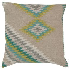Beth Lacefield Calexico Pillow in Oyster Gray