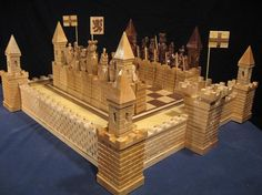 The Scottish Wars for Independence Chess Set