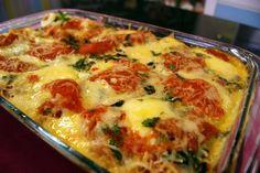Culinária de Domingo: LASANHA DE BATATA PALHA