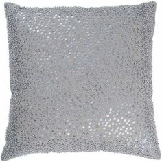 Accent Pillows, Silver Sequin - Set of 2, Rizzy Rugs, Pillows Collection | Home Gallery Stores