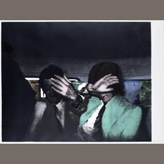 Richard Hamilton (British, 1922-2011) Release  Screenprint in colours with silver foil collage, 1972, on Hodgkinson, signed and numbered /150, printed at Kelpra Studios, London, published by the Petersberg Press, London, the full sheet, 700 x 940mm (27 1/2 x 37in) (SH). Framed Estimate: £15,000 - 20,000 €19,000 - 25,000 US$ 23,000 - 31,000