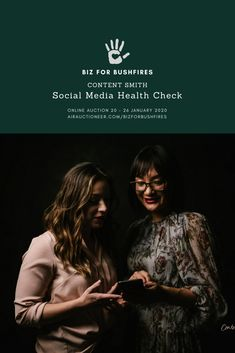 Check out airauctioneer.com/bizforbushfires to bid on our Social Media Health Check. We've banded together with a group of conscious businesses who care deeply about the impact of our national bushfire disaster, so we're donating products and services to raise much-needed funds. Along with us, there are over 55 other businesses donating services across marketing, strategy, leadership, digital, photography, branding, personal wellbeing and even office style! The auction finishes at 9pm on… Photography Branding, Office Style, Business Marketing, Digital Photography, Leadership, Investing, Auction, Sunday, Social Media