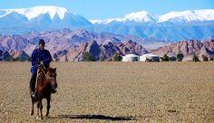 Cavaliere dell'Altai (foto Federico Pistone) • www.mongolia.it