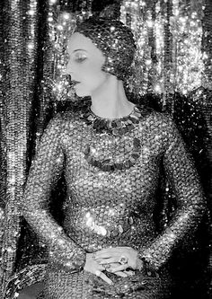 Nancy Cunard photographed by Cecil Beaton.