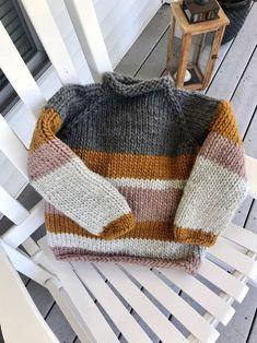 Baby Sweater Patterns, Chunky Knitting Patterns, Knit Baby Sweaters, Knit Patterns, Beginner Knitting Patterns, Knitting Sweaters, Knit Jumper Pattern, Baby Knits, Knitting Ideas
