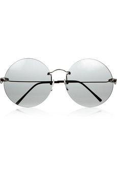 bcd1560698c8 Maison Martin Margiela Verre Formé Round Sonnenbrille mit rundem Gestell  Maison Martin Margiela