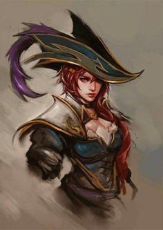 Miss Fortune,League of Legends,Лига Легенд,фэндомы Miss Fortune, Lol League Of Legends, Video Game Characters, Fantasy Characters, Female Characters, Dnd Characters, Age Of Mythology, Fanart, Character Portraits