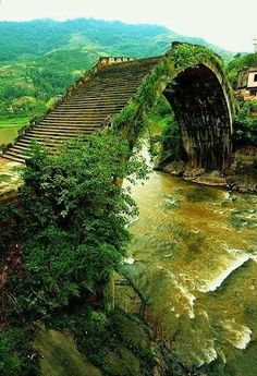 ~Moon bridge, hunan, china