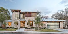 Remodelled Contemporary Home With Rustic Elements - Austin, Texas